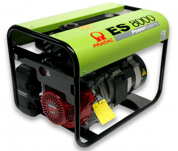 Image of   ES8000 SHHPI Pramac generator 230V