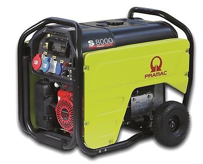 ES8000 THEPI generator Pramac 400V CON