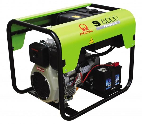 TYEDI S6000 Pramac generator CON