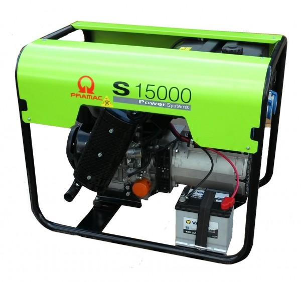 S15000 TREDI Pramac generator 400V