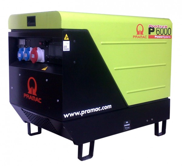 Image of   Generator P6000TYEDI CON