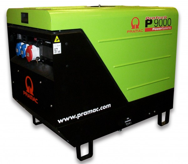 Image of   P9000 TREDI Pramac generator CON AVR