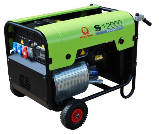 """Image of   Hjulsæt Pramac til generatorer med """"foldbare håndtag"""""""