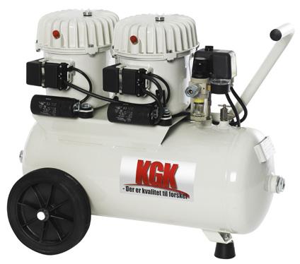 Image of   100L Lydsvag kompressor Kgk - olieholdig