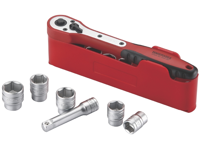 """M1212N1 1/2"""" Teng tools Topnøglesæt"""