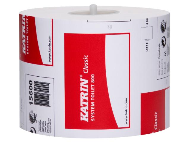 Image of   Toiletpapir Katrin 156005 Classic System 800 - 36 rl