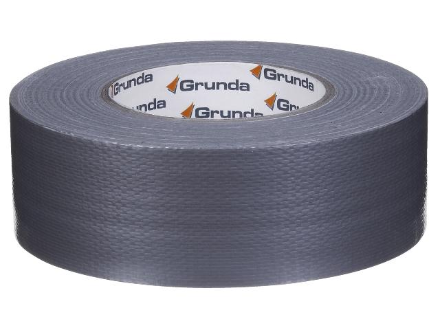 Tape vævet sølv 50mmx50mtr pr rulle