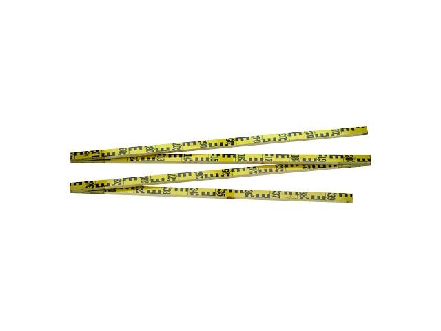 Målebånd, tommestokke og linealer