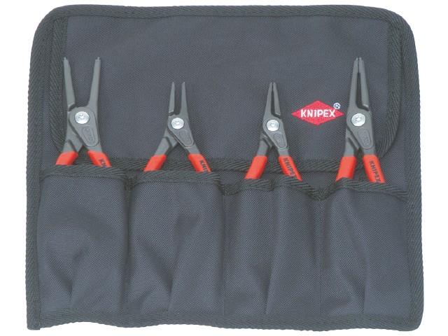 Image of   Låseringstang til ind- og udvendige låseringe Knipex 00 19 57