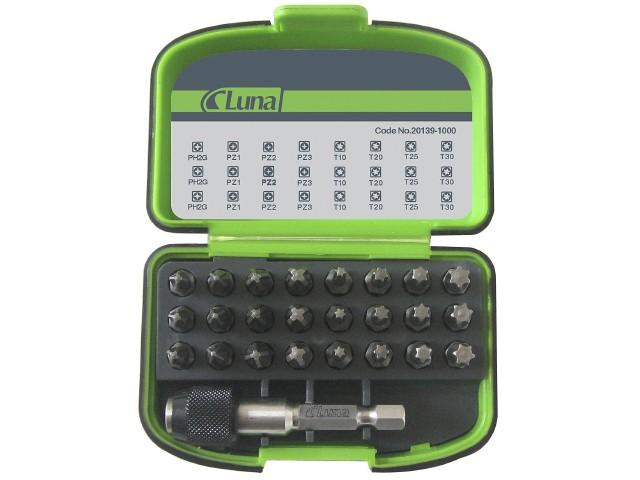 Image of   Bitssæt med de mest anvendte bits Luna 25 dele Model B