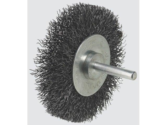 Image of   Cirkulær ståltrådsbørste Luna