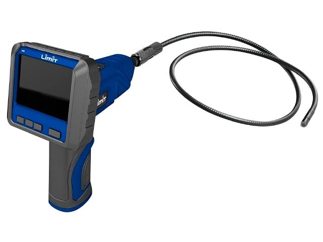 Inspektionskamera Limit der kan indspilles