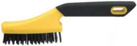 Håndstålbørste ergo 4-r stål