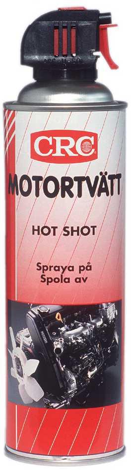 Image of   Motorvask hot shot spr.500ml