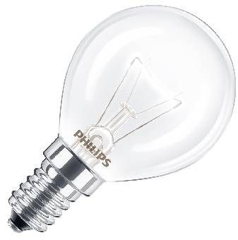 Image of   Glödlampa klot ugn 40w e14