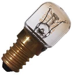 Ugnslampa 15w e14 klar 300gr