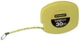 Image of   Stålbåndmål 30m(gul)034108