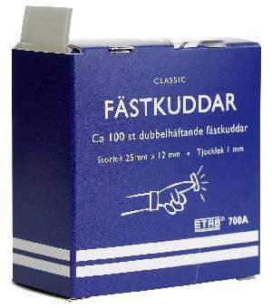 Image of   Fästkuddar 700a12mmx25mm 100st