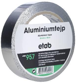 Image of   Tejp aluminium 957 25mmx50m