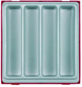 Image of   Indbygningsboks med fack ttd00