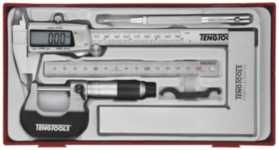 5 dele målesæt (digital skydelære)
