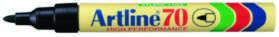 Image of   Mærkepen artline 90 sort