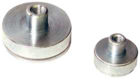 Magnet i smco 6 mm gevind m3