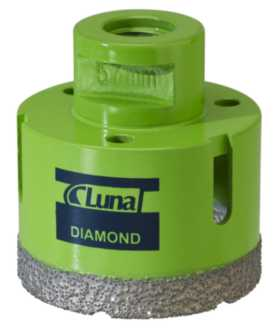 Diamantbor 83 mm m14-fatning