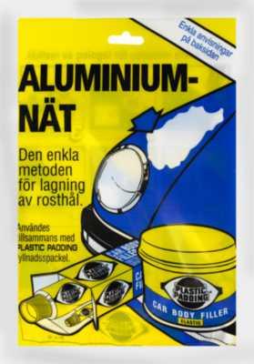 Aluminium-net PLASTIC PADDING