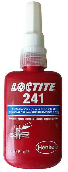 Gevindlåsning middelstærk Loctite 241