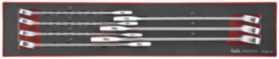 Ringgaffelnøglesæt tex2032