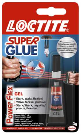 Image of   Hurtiglim Loctite SUPER GLUE POWER FLEX