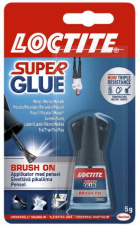 Image of   Hurtiglim Loctite SUPER GLUE BRUSH-ON