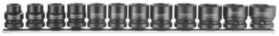 Krafttopsæt stubby 10-24 mm