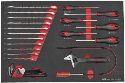 Image of   Værktøjssæt med 28 dele Teng Tools TTESP28