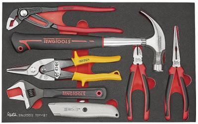Image of   Værktøjssæt med 7 dele Teng Tools TEFMB7