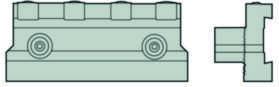 Platteholder 150.10-2525-25