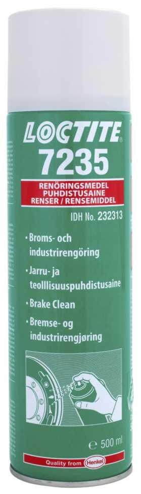 Bremse-/industrirengøringsmiddel Loctite 7235
