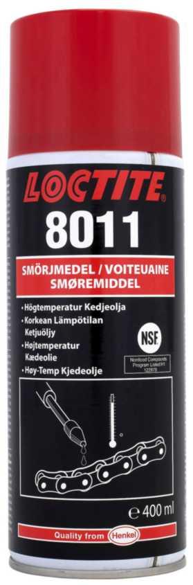 Kædeolie Loctite 8011