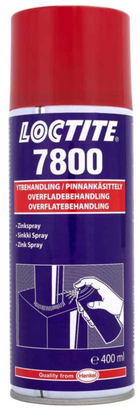 Korrosionsbeskyttelse / Zinkspray Loctite 7800