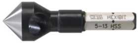 Image of   Forsænkere hexibit 7-20mm