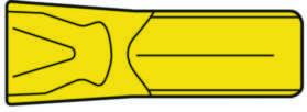 Hårdmetalplatte til stikstålklinge Seco 150.10