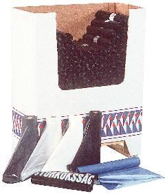 Image of   Sopsäck plast 0,09mm 125l svar