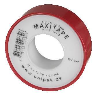 Image of   Tejp gängtätning maxi 12mx12mm
