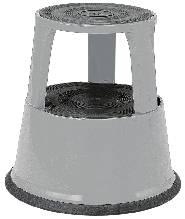 Image of   Rullpall kickstep grå