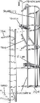 Image of   Skyddskorg stål skenor 4-pack
