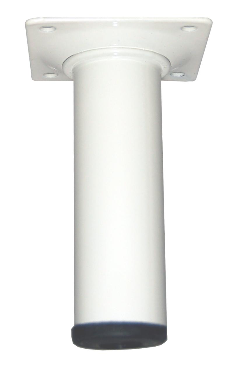Image of   Bordben 10 cm. - dia. 30 mm. - hvid