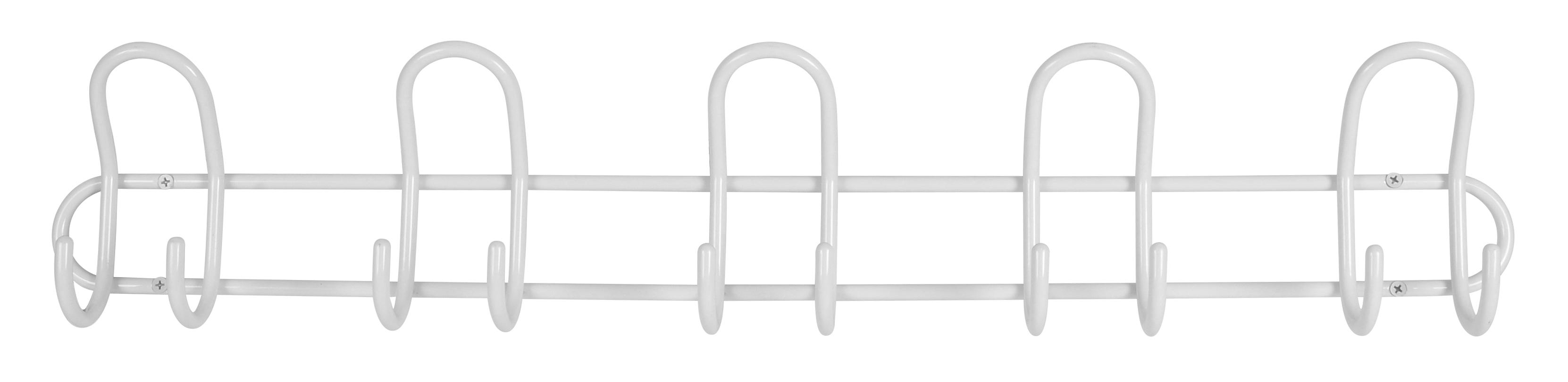 Image of   Knagerække P5 5-knage - hvid