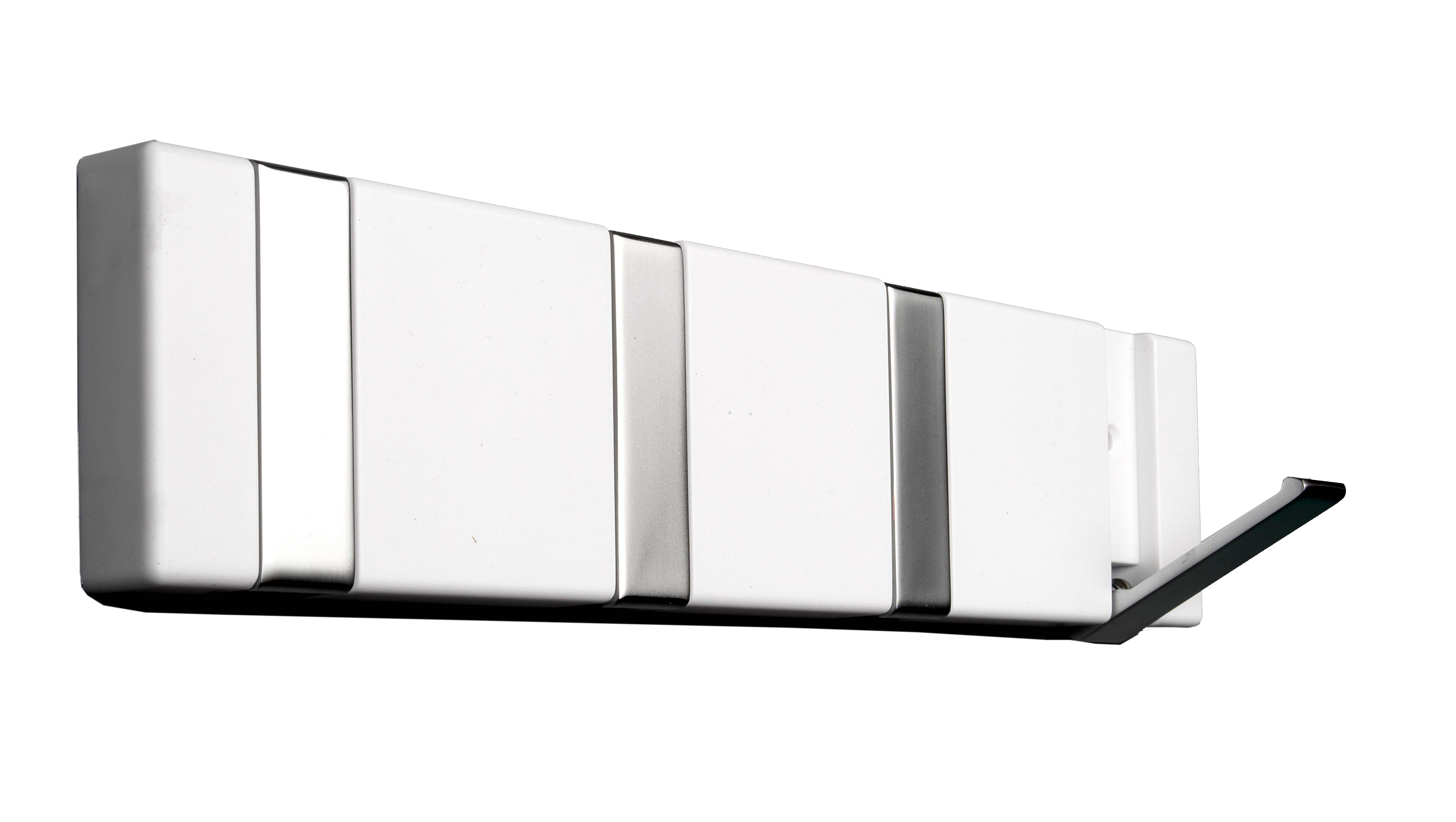 Image of   Knagerække 4-kn. FLEX - hvid