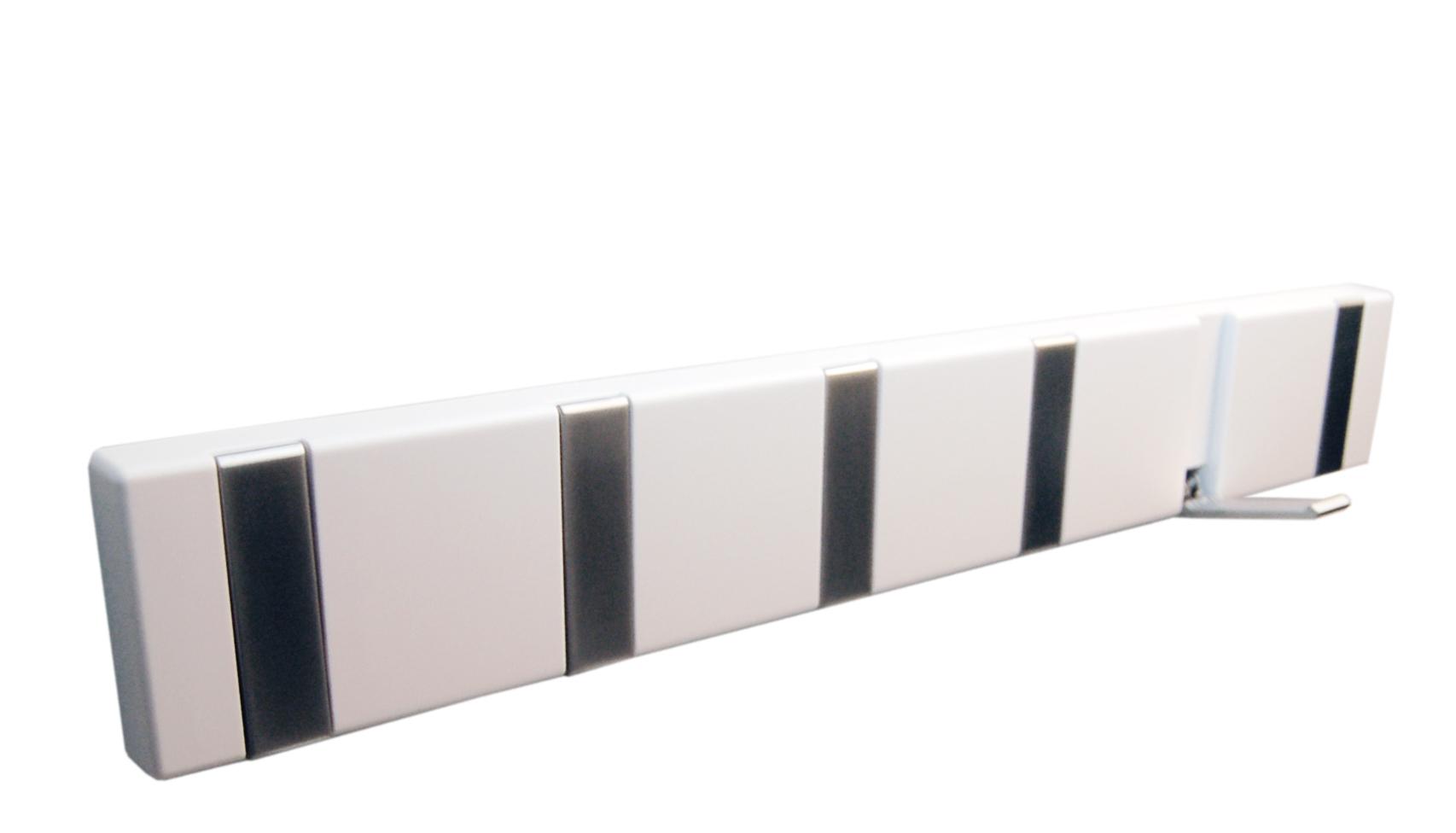 Image of   Knagerække 6-kn. FLEX - hvid